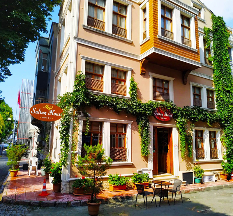 Hotel Sultan House Is A Converted Ottoman Located In Sultanahmet One Of The Oldest And Most Colourful Quarters Istanbul It Close To